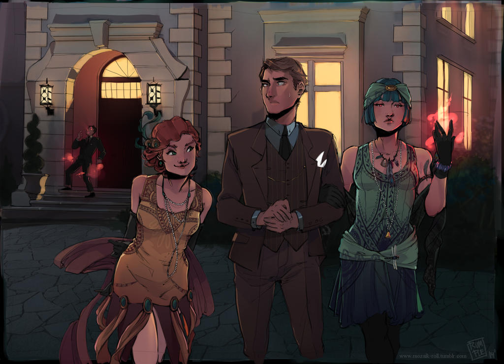 :The Call of Cthulhu: Leaving the Party by BTRumple