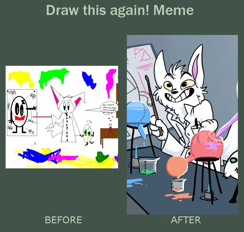 Draw that again meme by RagtimeLime