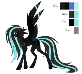 [Contest Entry] Sapphire Darkness Redesign by Sadatrix