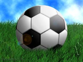 soccer ball by xcazu