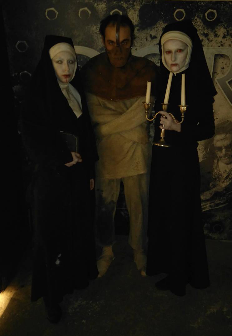 Vampire the Masquerade Lasombra Malkavian Group by Fin