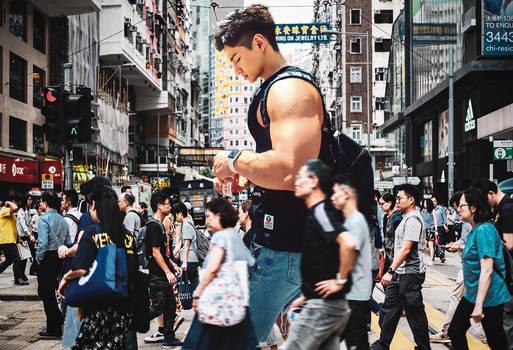 Giant street snap
