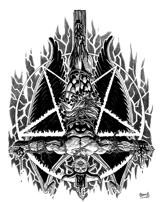 Crucifixion of Lucifer final by boognish420 on DeviantArt
