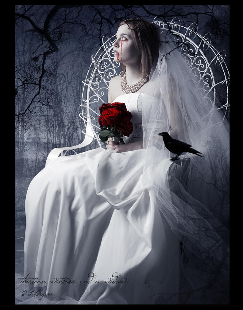 thirteen winters and a widow by LaCrymaMosa