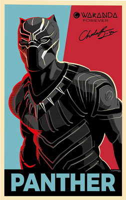 Black Panther. Vec8or