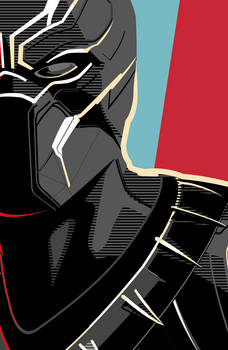 Black Panther Detail Vec8or