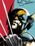 Wolverine detail. Vec8or by Vec8or
