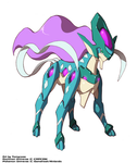 Model Suicune Form