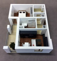 Makieta mieszkania