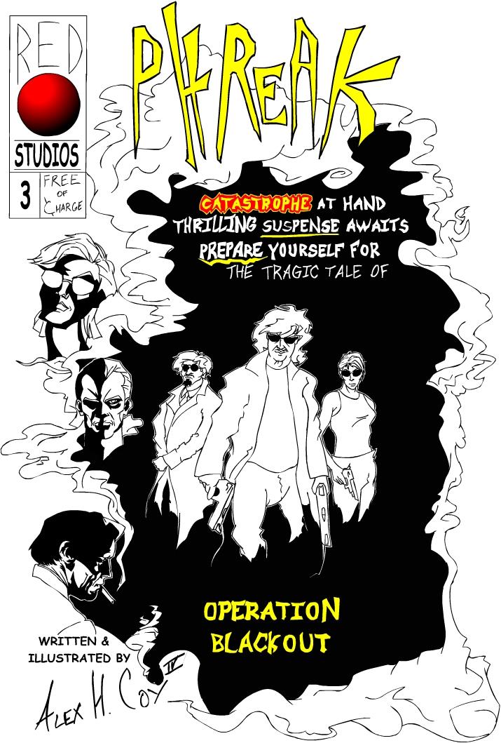 Operation Blackout Issue 3 Phreak by smartmouthstudios