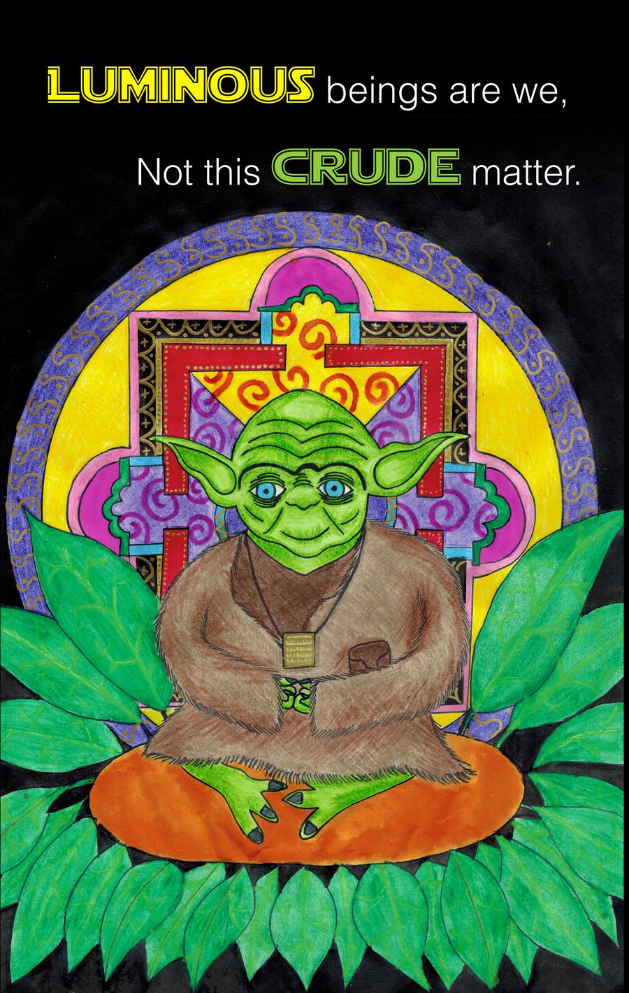Yoda Buddha by supersams89