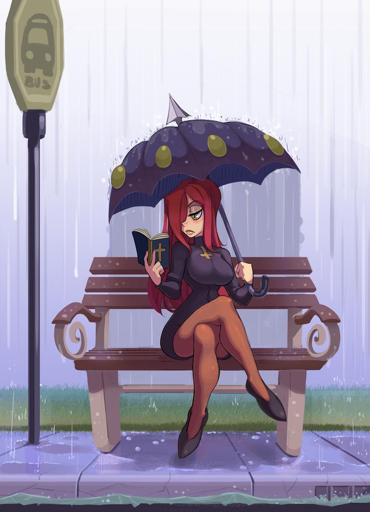 Parasoul Rain by G-3-n-o