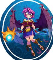 WingedGirl Comm by G-3-n-o