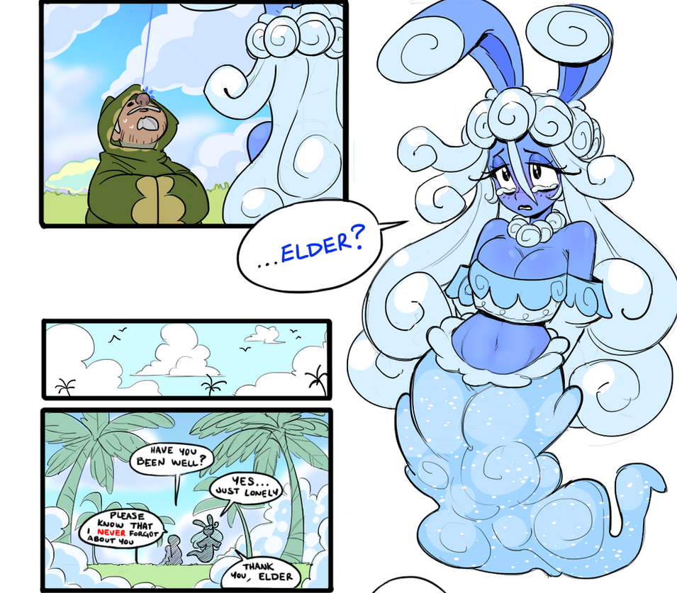 Lonely Cloud 001 -- I'm Wizzy, Shy To Meet You by G-3-n-o