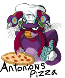 Gravity Antonions Pizza by Wickydolly