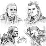 Legolas sketches