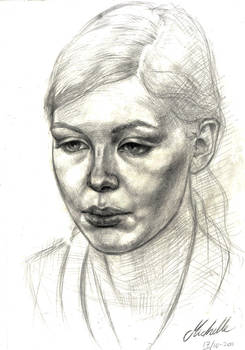 Portrait of Pernille