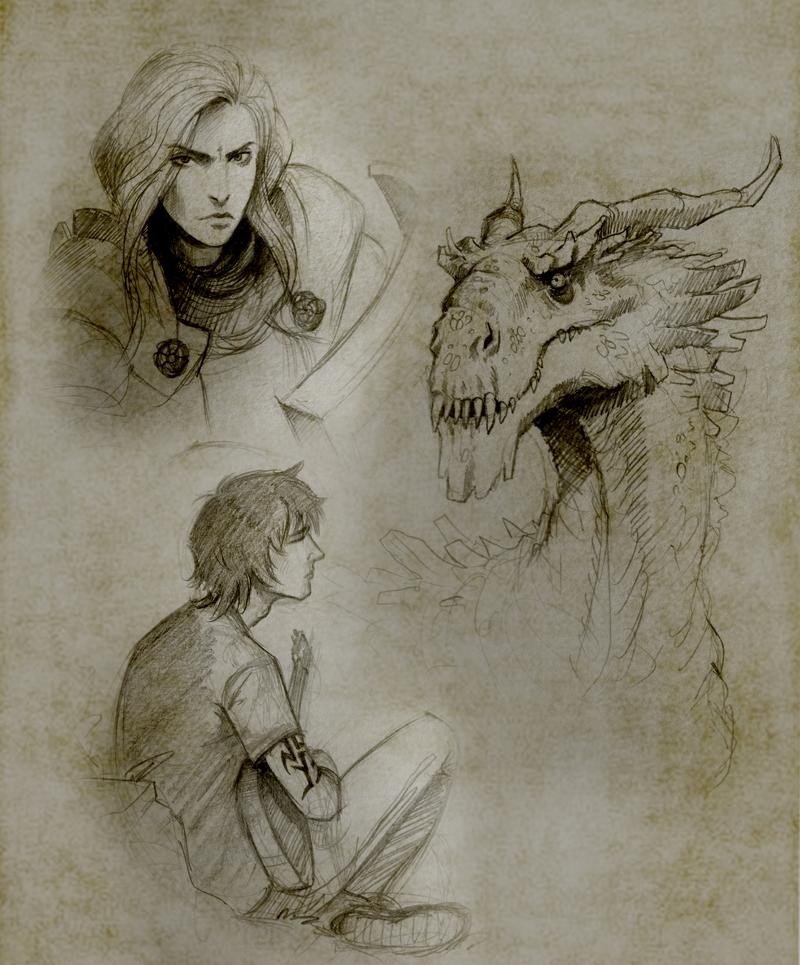 Sketchbook 5 by Manweri