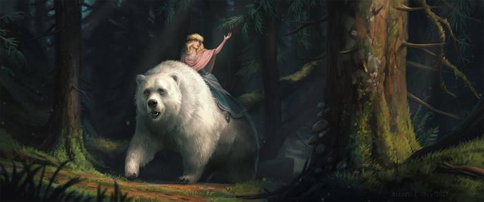 White Bear King Valemon by Manweri