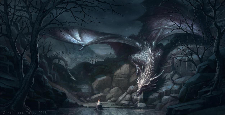 Dragon Tarn by Manweri