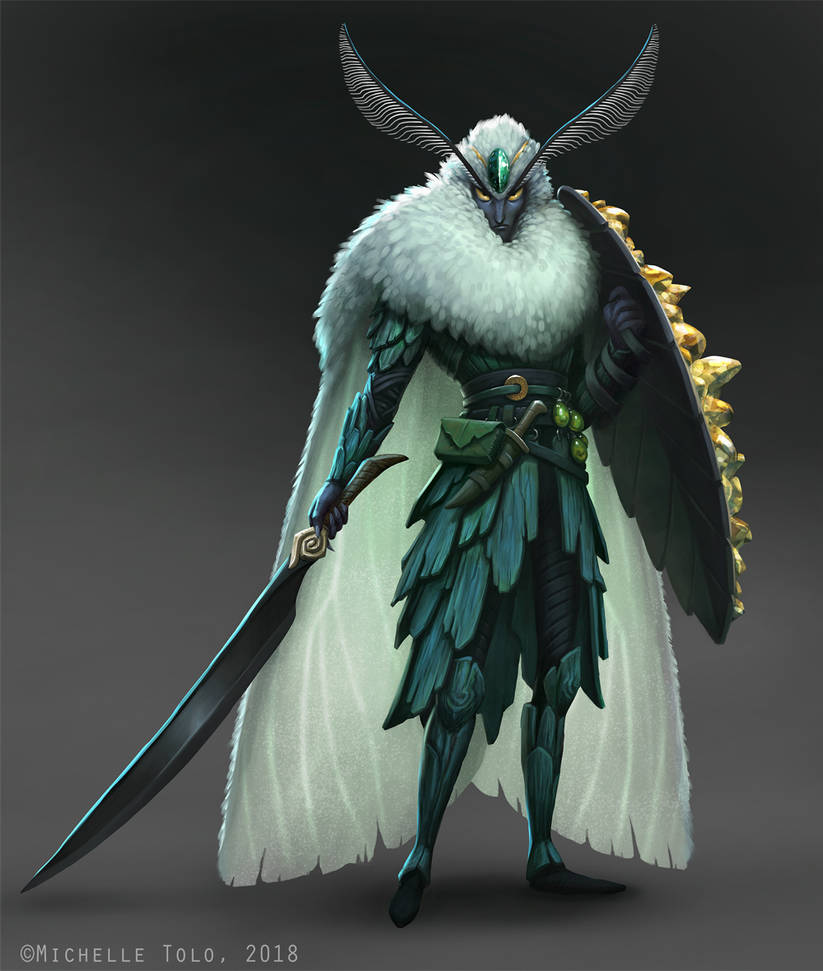 CDChallenge: Insect Warrior by Manweri