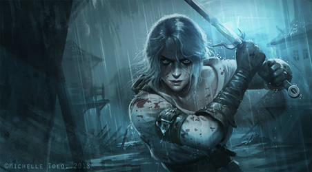 Ciri by Manweri