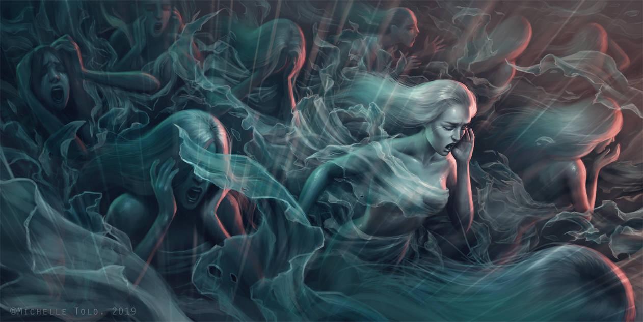 The Wailing Widows by Manweri