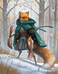CDChallenge: Fox Adventurer