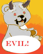 evil bear by flamex1991