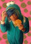 Emo CookieMonster Harajuku by JESZAR