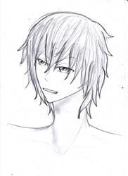 AYANEME OC sketch by kuroshishiro
