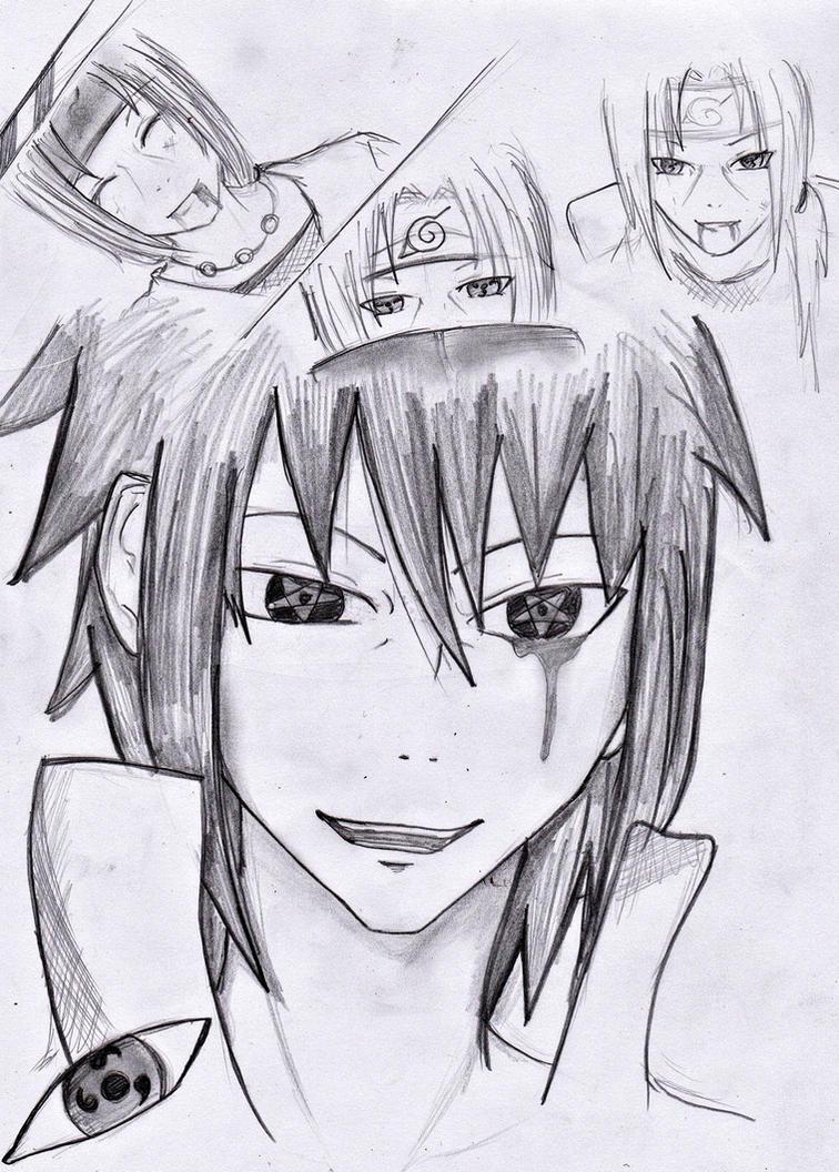sasuke regret by kuroshishiro