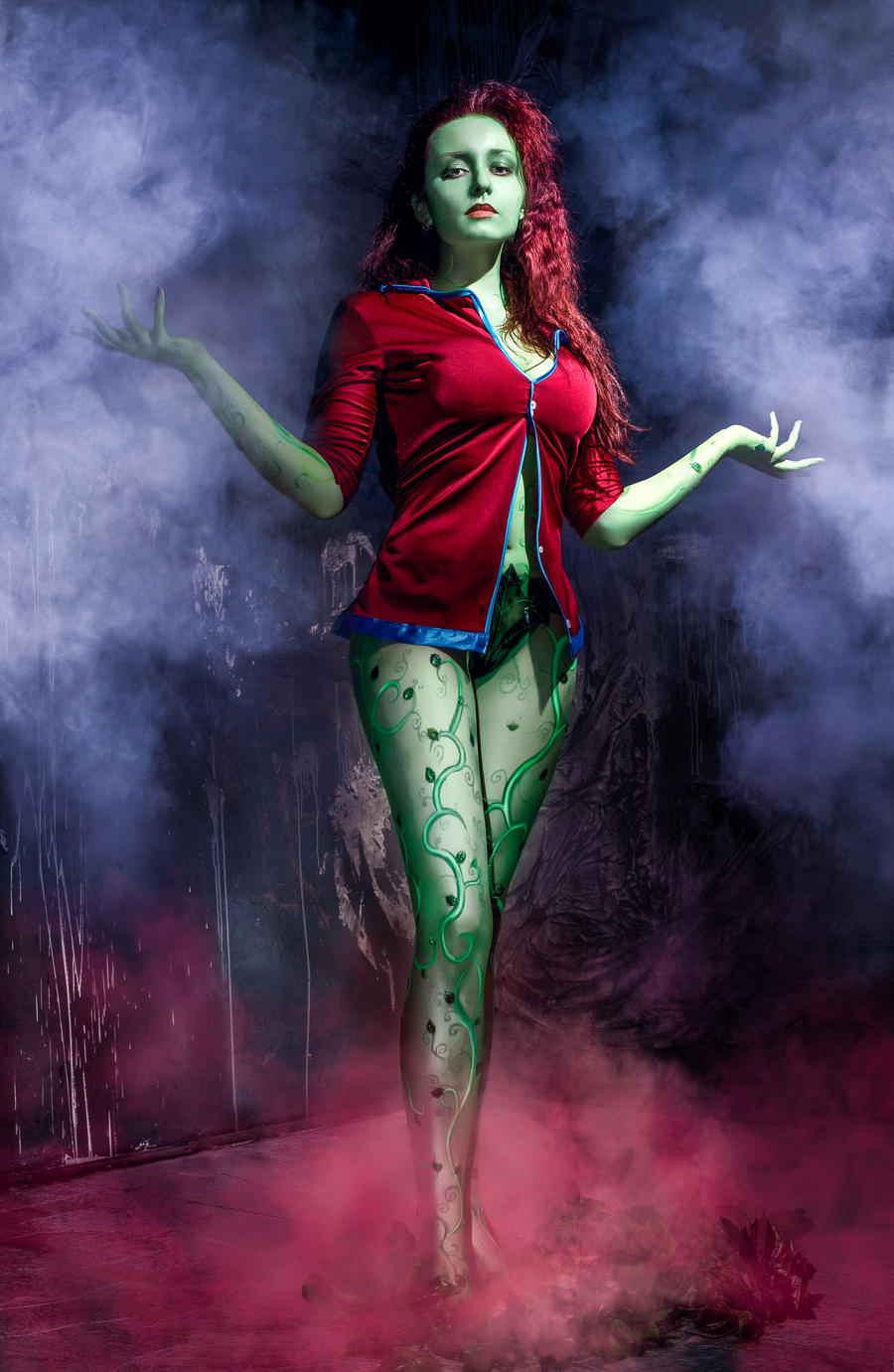 Poison Ivy - Arkham Asylum by ryszard-redfur on DeviantArt