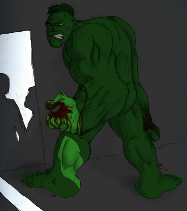 Hulk Naked