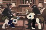 Avengers Ponies - Charles and Erik