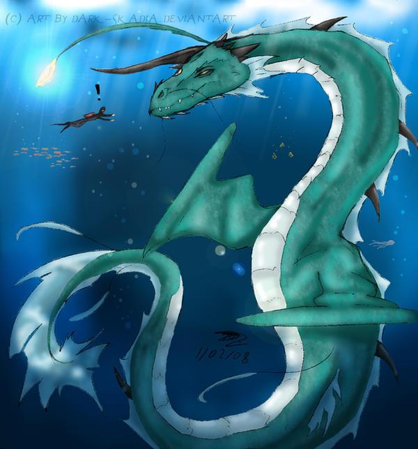 ..:: Dragon Marin ::.. by Dark-Skadia