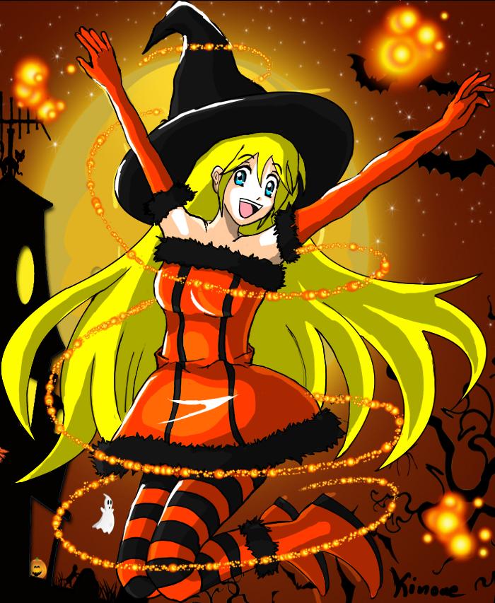 Halloween Art by Karasu-Inoue on DeviantArt