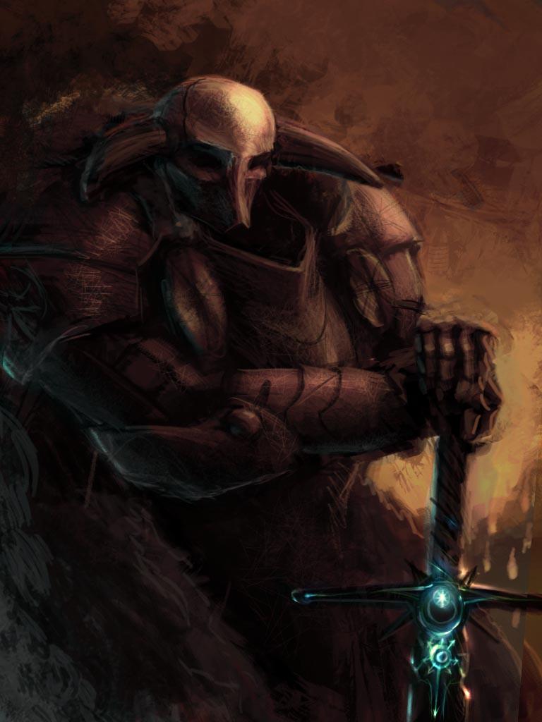 Chaos Knight by Leevitron