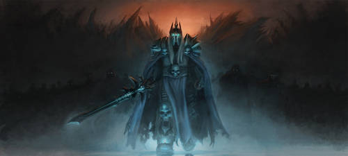 Arthas the Lich King by Leevitron