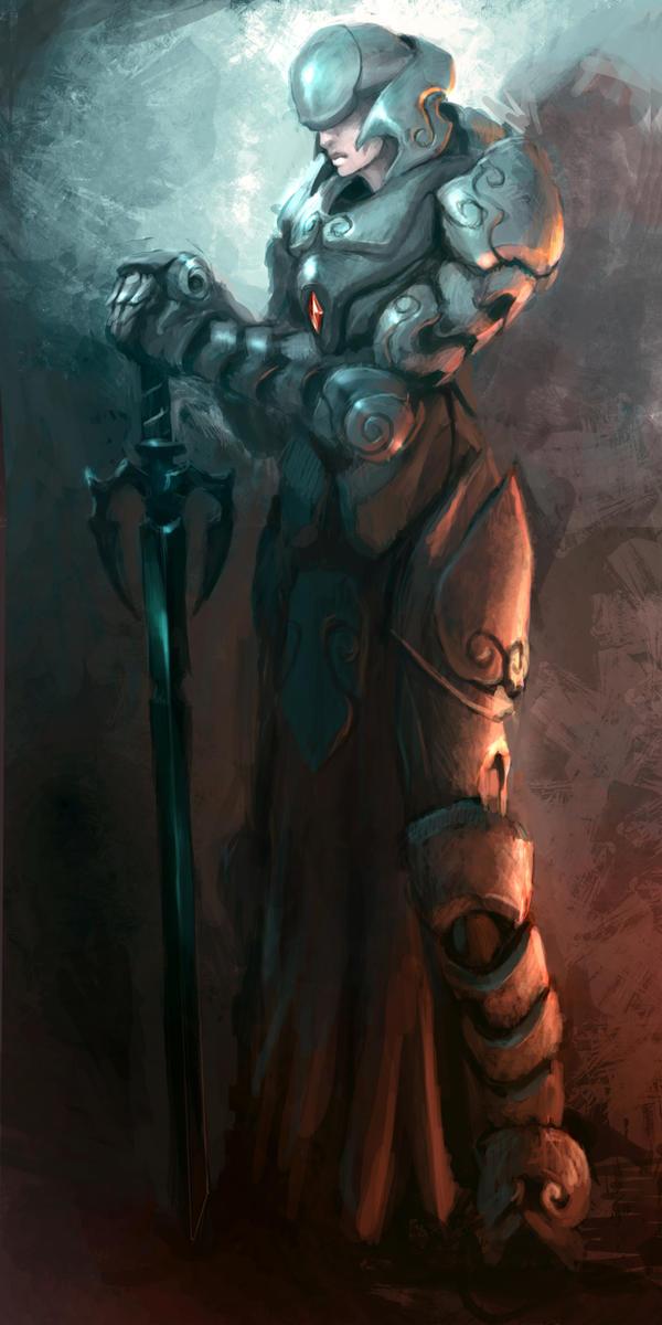 Warrior 13 by Leevitron