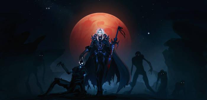 WOW: Blood Elf Death Knight