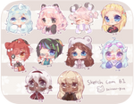 C | Chibi Headshots - batch 1 -