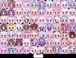 Bubble Icon Wall 1 - update 3.29.18 - by Shirouu-kun