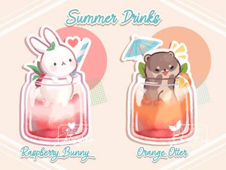 Summer Drinks by Shirouu-kun