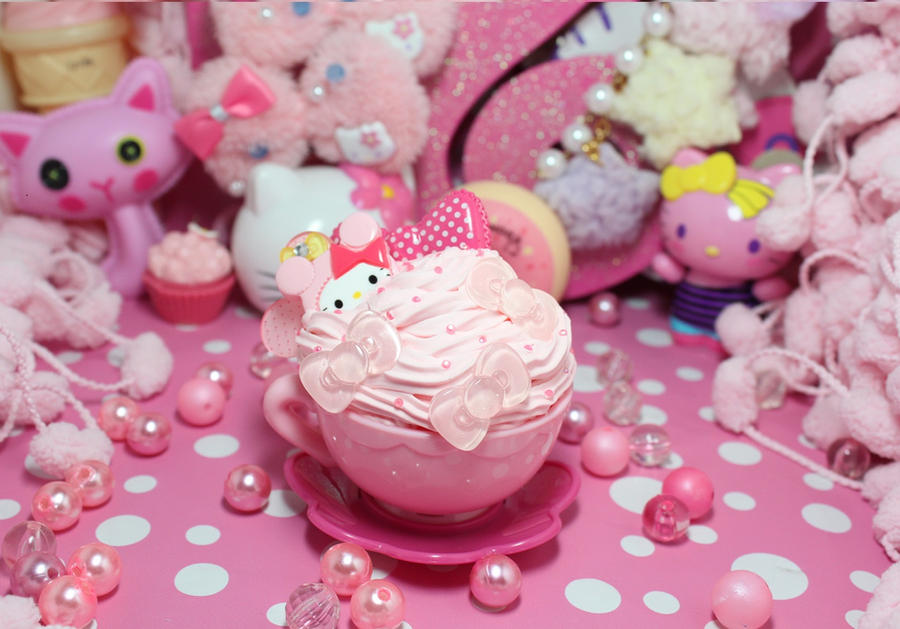 Hello Kitty Tea Cup Clip By KittywoodDesigns On DeviantART