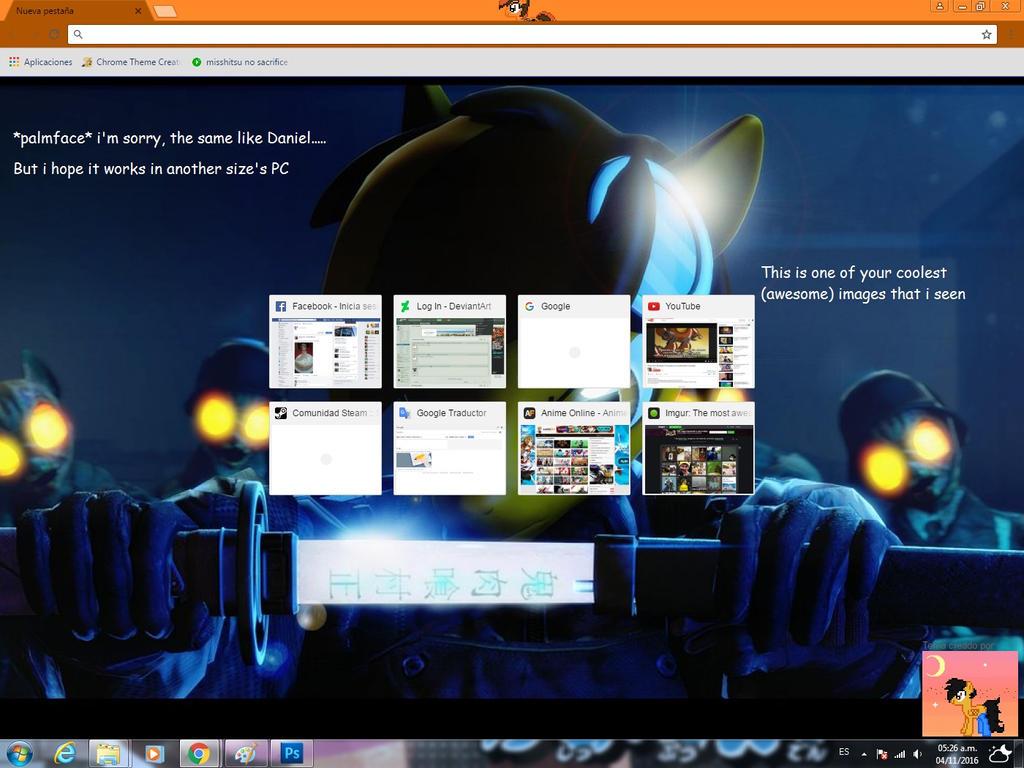 Google themes fox - Mercfox S Google Chrome Theme By Ianmata1998