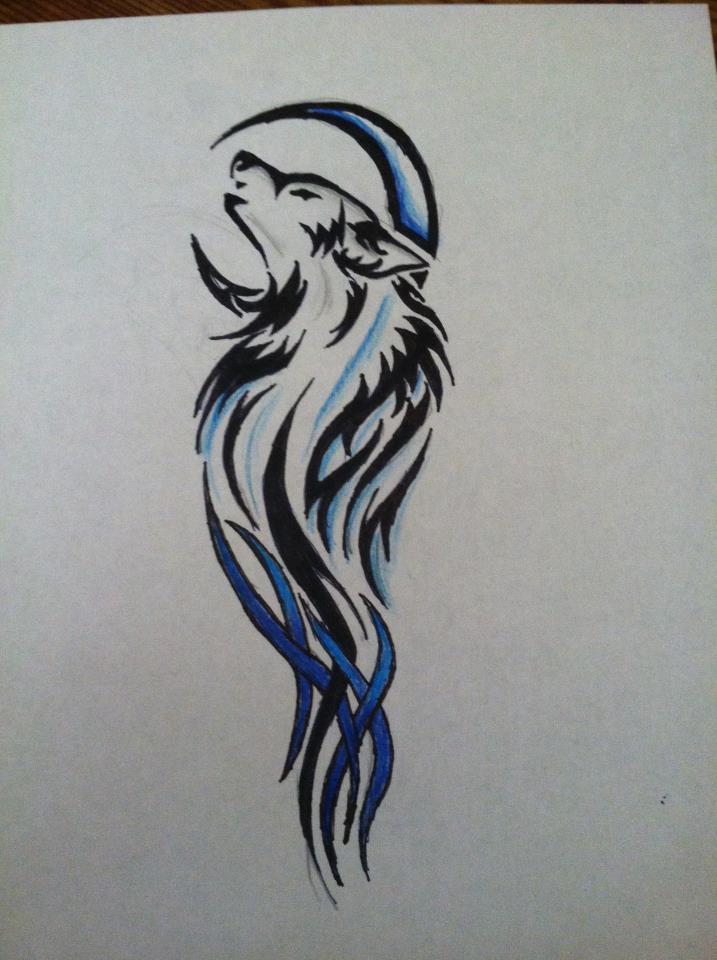 wolf tattoo design by digitallydesigned on deviantart