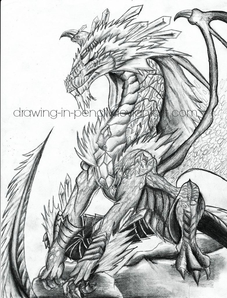 The Detail of a Dragon by DigitallyDesigned on DeviantArt