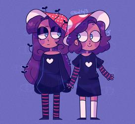 twins by Koalify13