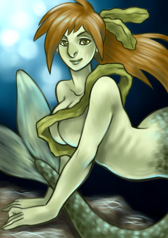 Kelp genderbender by artofdroth